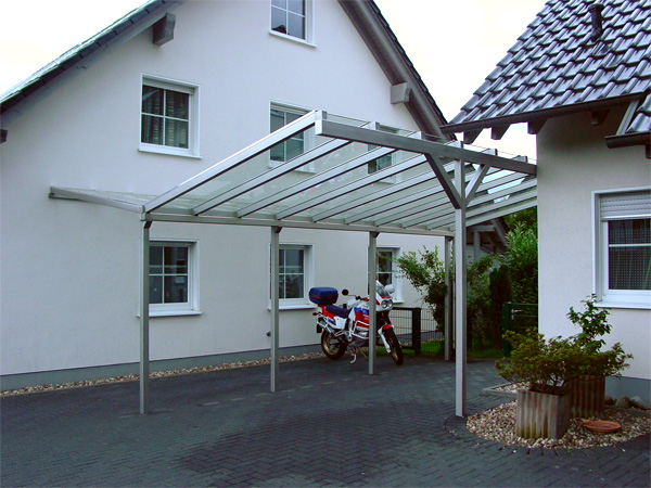 TerrassenUberdachung Holz Recklinghausen ~ Carport Mit Glasdach Pictures to pin on Pinterest
